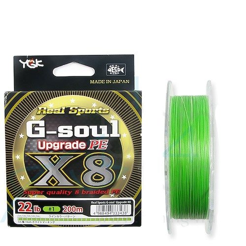 YGK G-SOUL UPGRADE X8 200M Thumbnail Photo